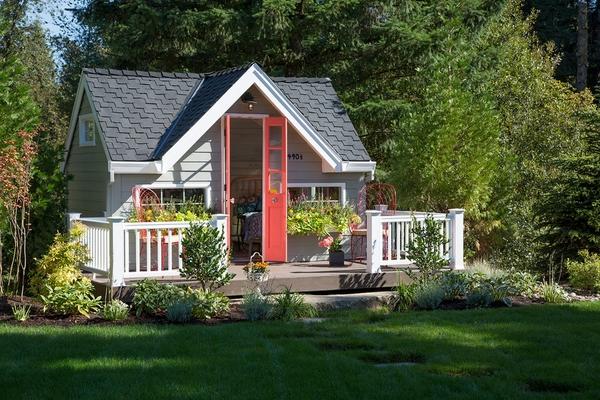 Thiết kế nhà vườn đơn giản nhưng mang đến tính thẩm mỹ cao