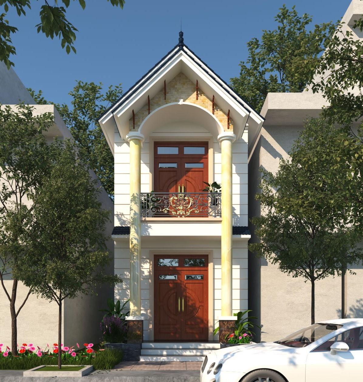 Mái thái mang tới nhiều ưu điểm cho công trình thiết kế nhà phố