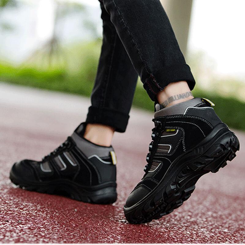Giày bảo hộ chất lượng sẽ đảm bảo cho việc bảo vệ bàn chân một cách tốt nhất