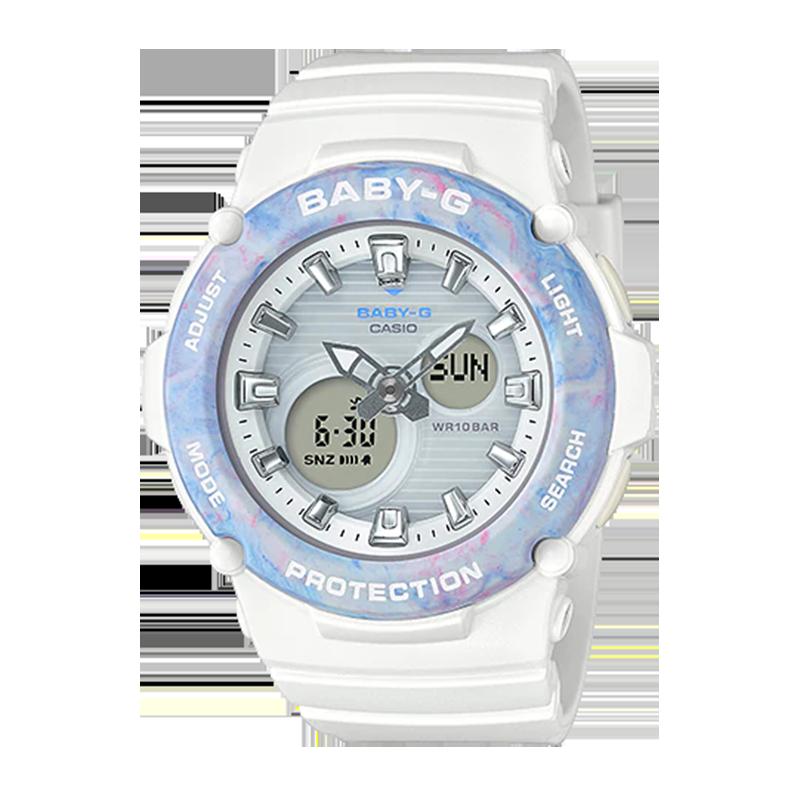 Đồng hồ thể thao Casio nữ phong cách nhẹ nhàng.