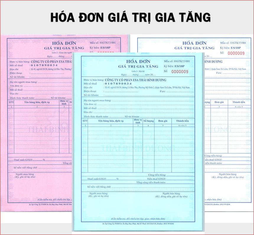 hóa đơn gtgt