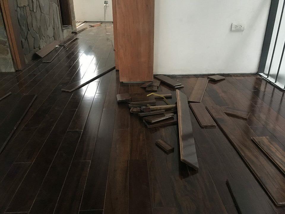 Sàn gỗ chiu liu giúp cho các công trình nội thất trở nên sang trọng, đẳng cấp hơn
