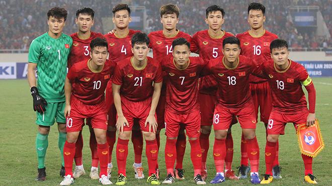 Tập thể U23 Việt Nam đoàn kết, lối đá khoa học
