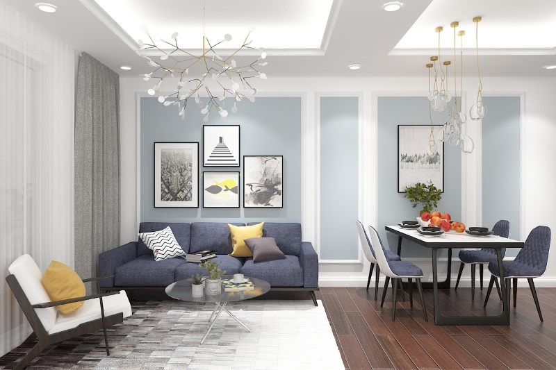 Mẹo trang trí nội thất làm hình ảnh chung cư đẹp hơn