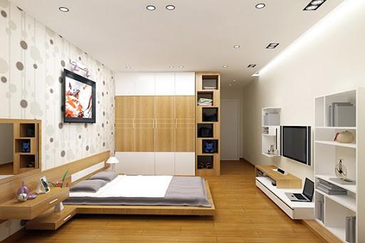 Lựa chọn sàn nhựa hèm khóa cho phòng ngủ yên tĩnh