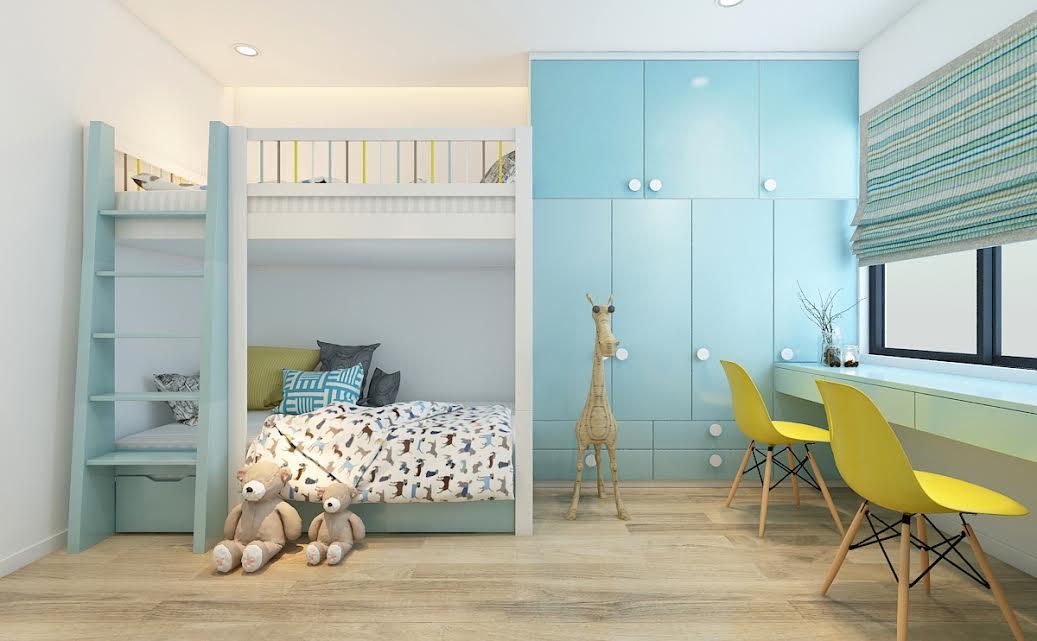 4 mẫu giường ngủ hiện đại theo tầng dành cho bé gái