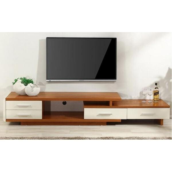 Các mẫu kệ ti vi gỗ để phòng khách đẹp nhất năm nay