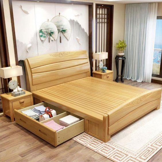 Những kinh nghiệm quý báu khi chọn mua những mẫu giường ngủ gỗ