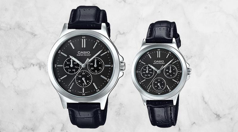 Đồng hồ cặp Casio MTP-V300L-1AUDF và LTP-V300L-1AUDF