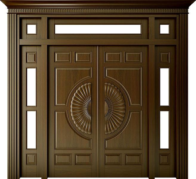 Kích thước cửa gỗ cần phù hợp với diện tích nhà ở