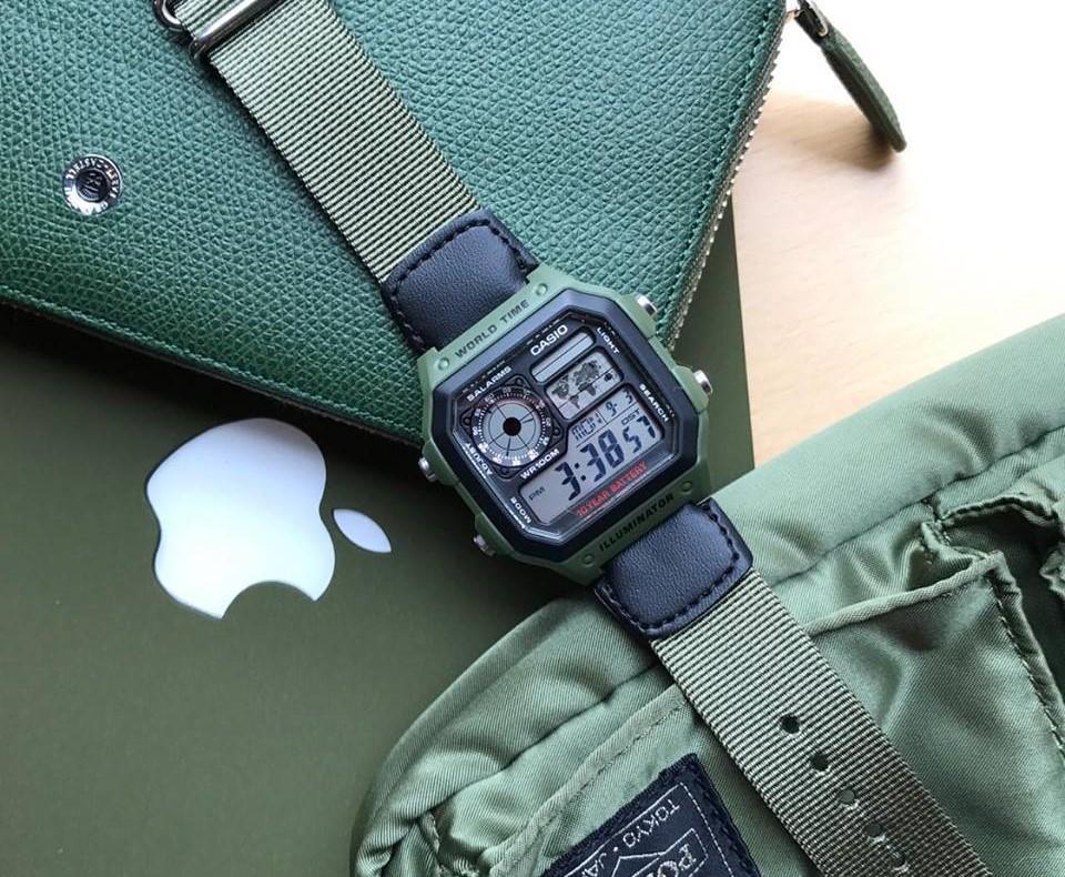 Đồng hồ Casio AE-1200WHB-3BV
