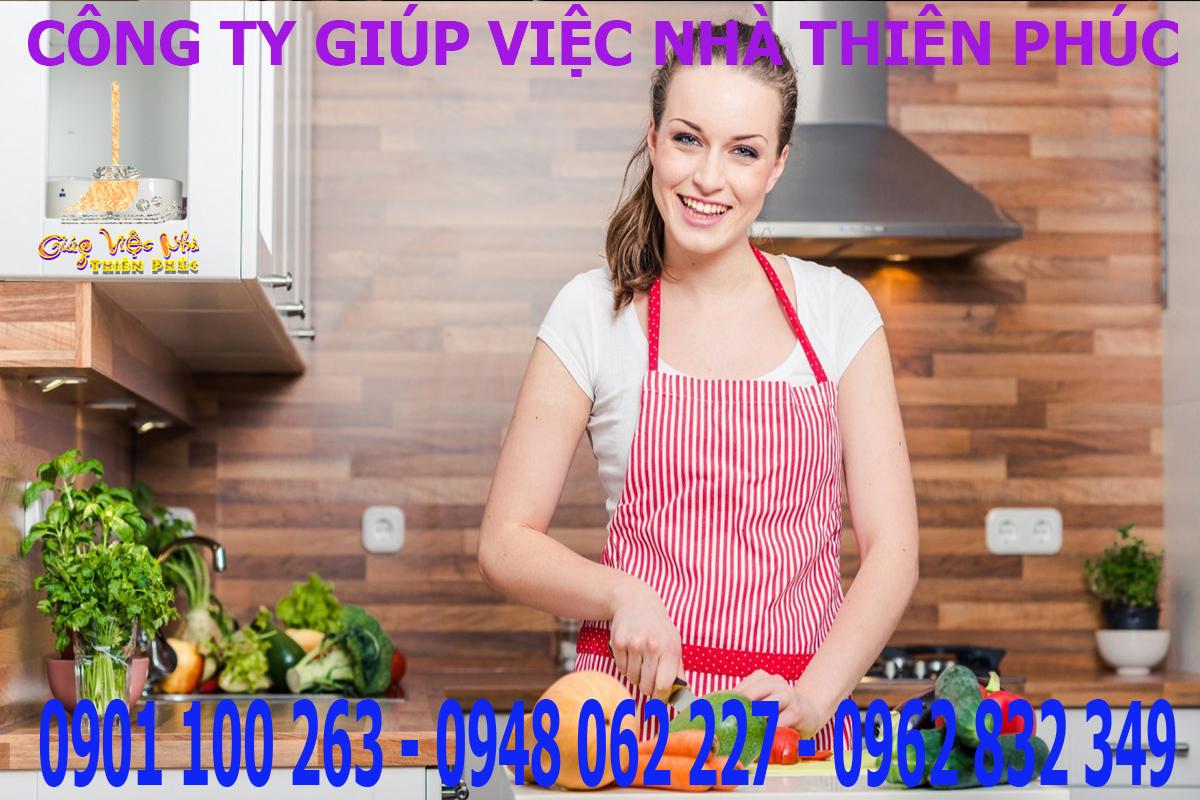 dịch vụ giúp việc nhà theo giờ tại TPHCM