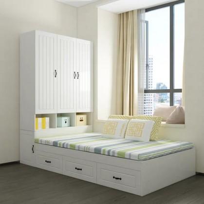 Một số mẫu giường ngủ gỗ đẹp cho không gian nhỏ