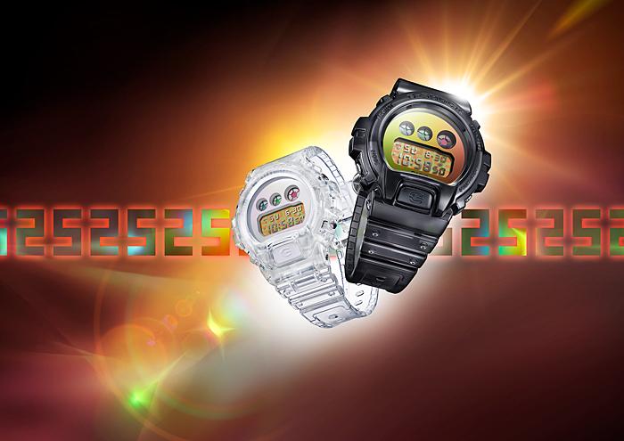 Cặp đôi đồng hồ G Shock DW-6900SP kỷ niệm 25 năm