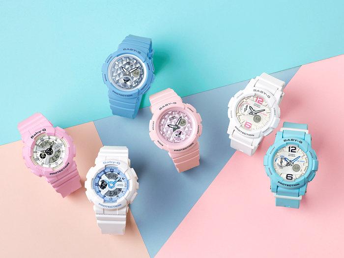 Phong cách trẻ trung, thu hút ánh nhìn của những chiếc đồng hồ Casio thể thao Baby-G.