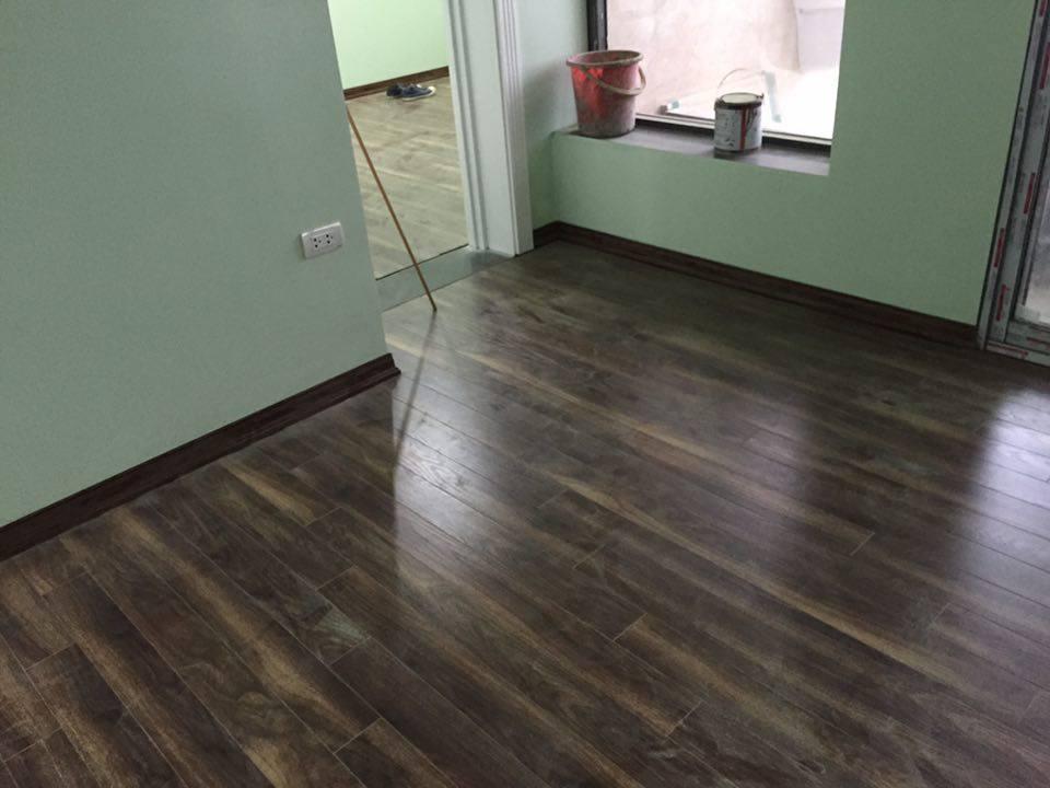 Chất lượng của sàn gỗ cốt xanh rất tốt