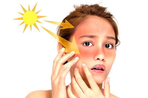 Khói bụi, tia UV ảnh hưởng tới da mặt