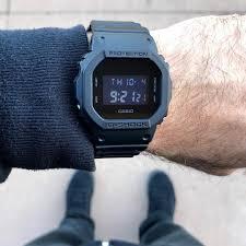 Đồng hồ Casio G-shock  BW-5600BB-1ADR với thiết kế đầy mạnh mẽ, cá tính