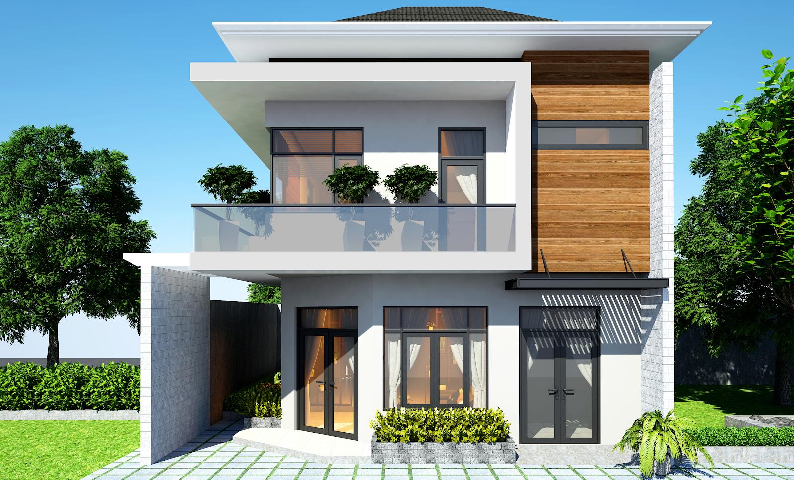 Những mẫu nhà phố đẹp với phong cách chuẩn