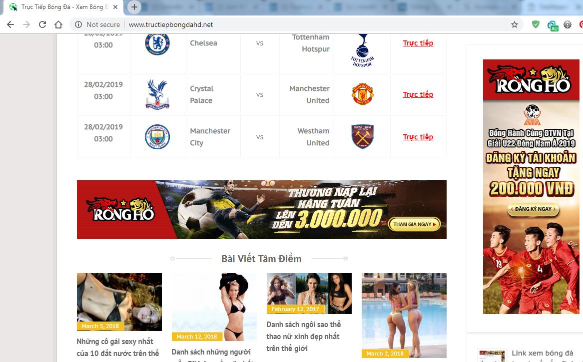Tại sao lại có nhiều khán giả viếng thăm website bóng đá?