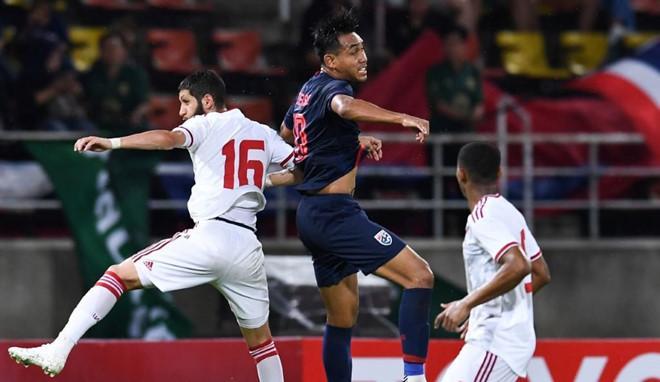Thái Lan có được 3 điểm quan trọng khi tiếp đón đối thủ là UAE