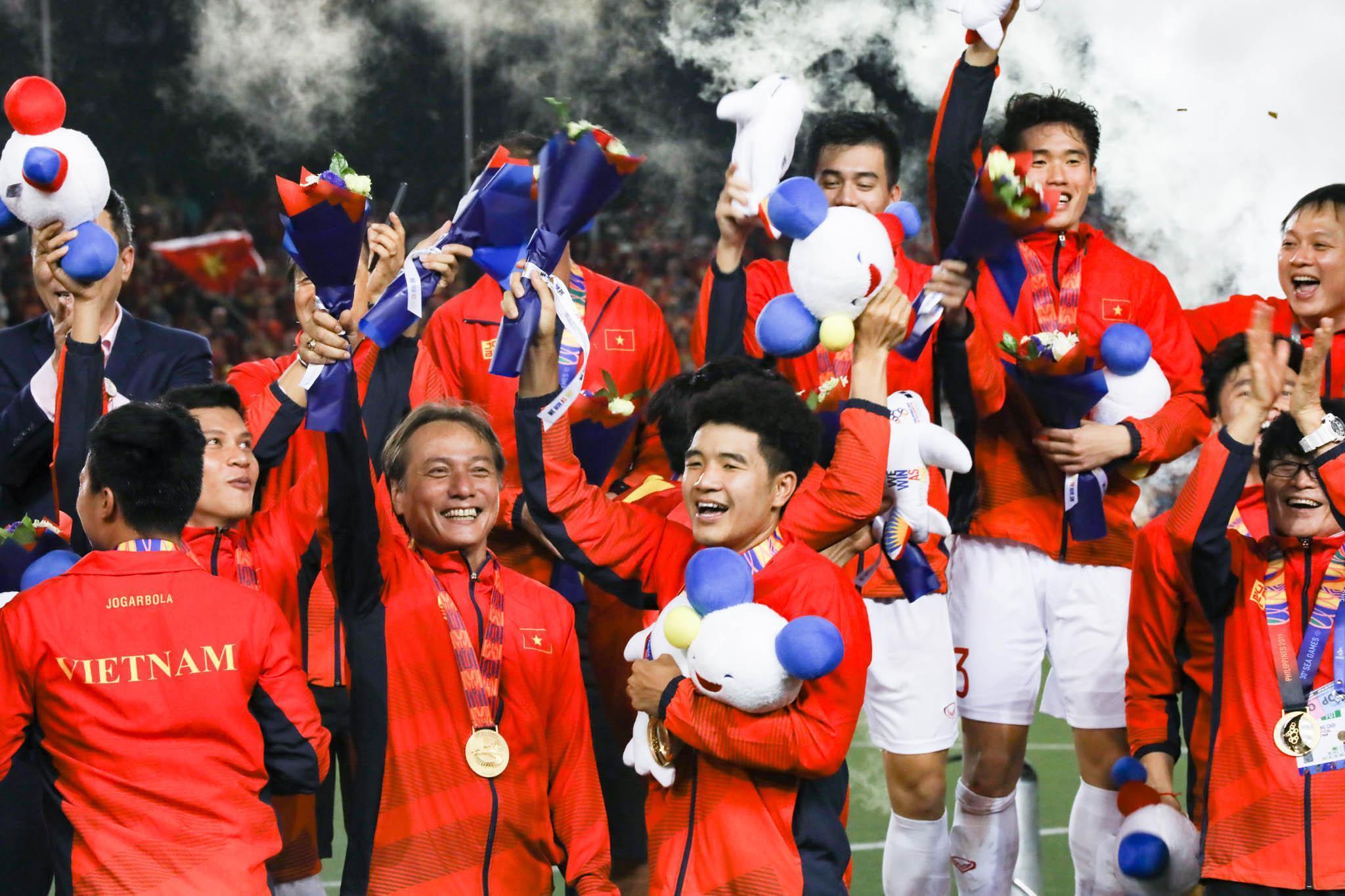 Niềm hạnh phúc khi vô địch SEA Game của U22