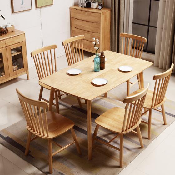 Những bộ bàn ăn 6 ghế đang hot trên thị trường nội thất