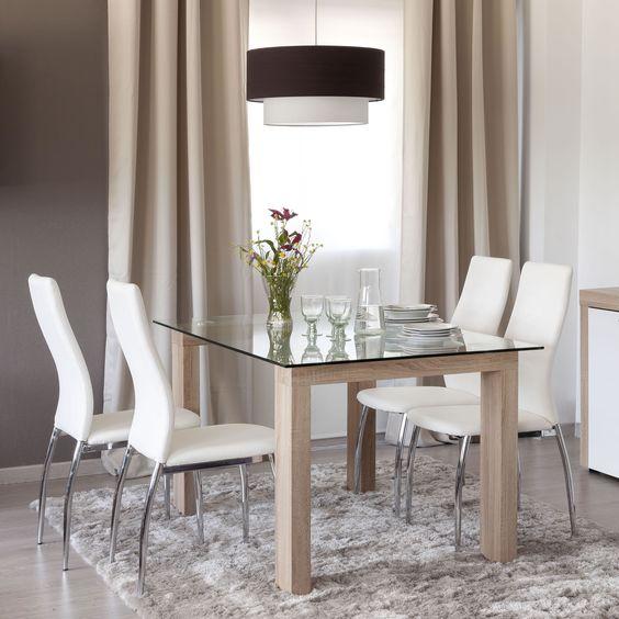 Chú ý kích thước chuẩn cho các mẫu bàn ăn gỗ đẹp