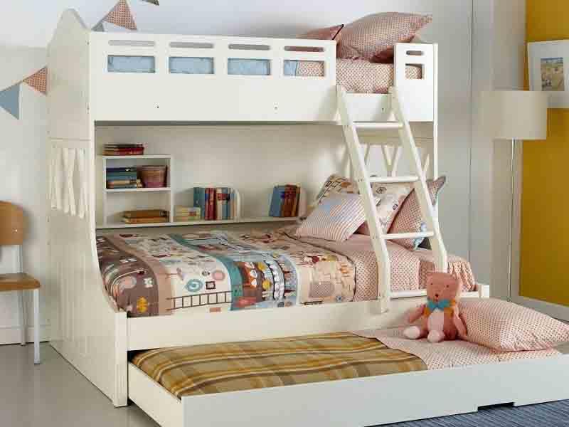 Những ưu điểm vượt trội của giường đôi cho bé