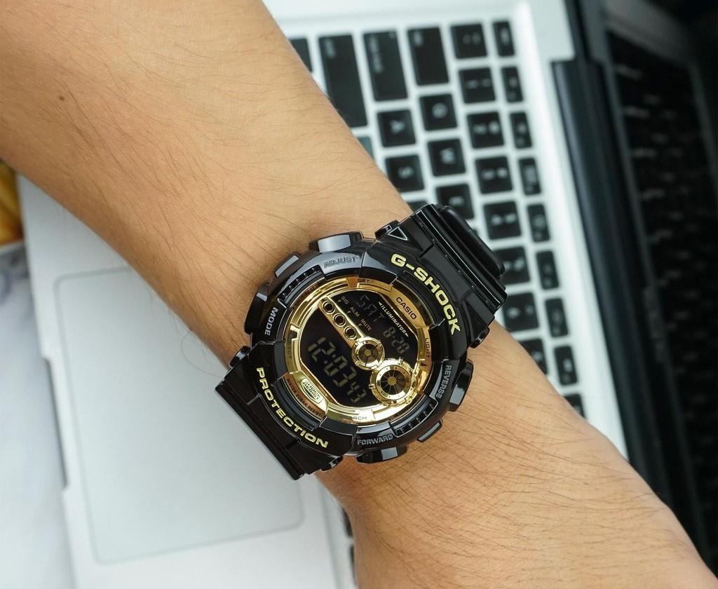 Đồng hồ G-Shock GD-100GB-1DR vừa mạnh mẽ, vừa sang trọng