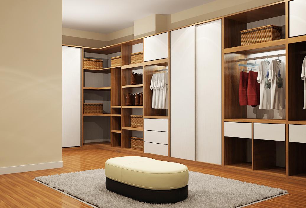 Chiếc tủ có kích thước lớn với nhiều kiểu dáng kết hợp
