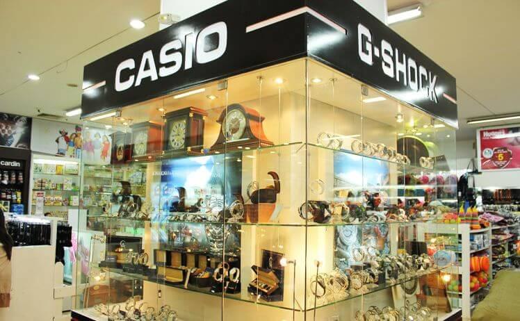 Mua đồng hồ Casio chính hãng tại cửa hàng và hệ thống đại lý Anh Khuê Sài Gòn.