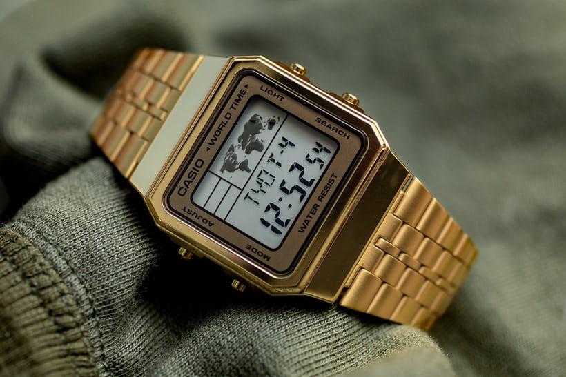 Đồng hồ Casio Gold A168WG-9WDF sang trọng, thanh lịch.