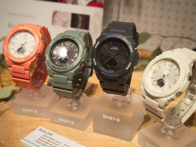 Đồng hồ Casio Baby G BGA-260 trẻ trung và cá tính với 4 màu sắc đa dạngĐồng hồ Casio Baby G BGA-260 trẻ trung và cá tính với 4 màu sắc đa dạng