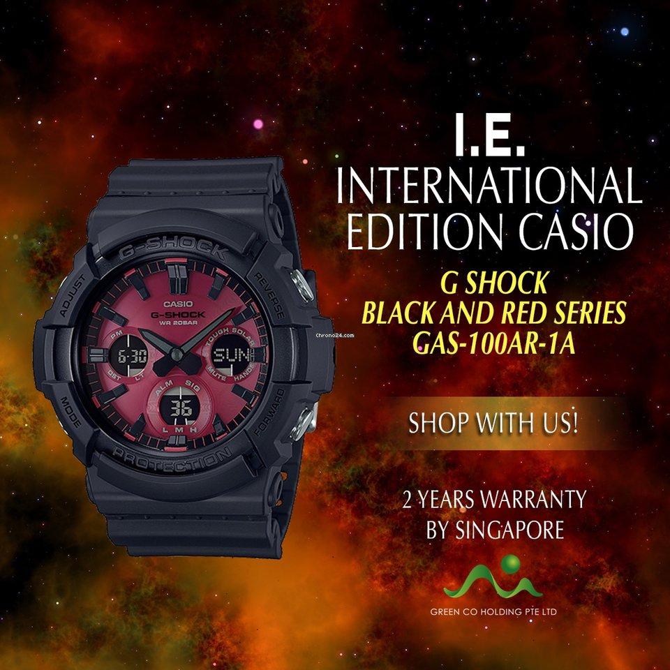 Đồng hồ G Shock GAS-100AR-1A