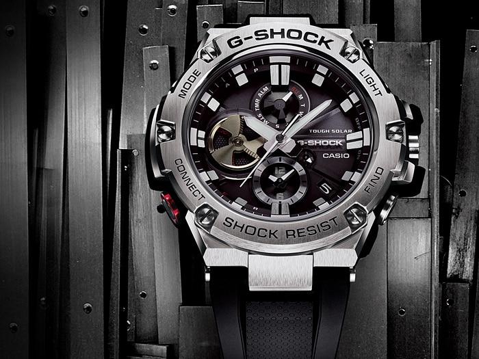 Đồng hồ G-Shock G-STEEL và MR-G với các chức năng tiện ích
