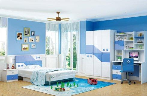 Những lưu ý khi thiết kế nội thất phòng ngủ trẻ em