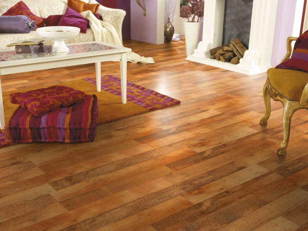 Sàn nhựa vân gỗ chịu nước, chịu nhiệt tốt