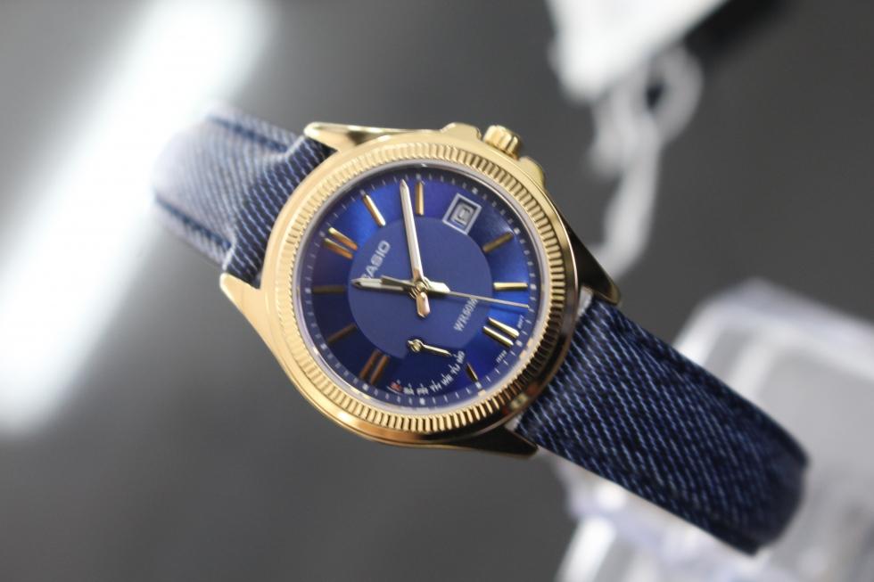 Đồng hồ Casio nữ LTP-E115GBL-2AVDF có chất lượng bền chắc, tuổi thọ dài lâu