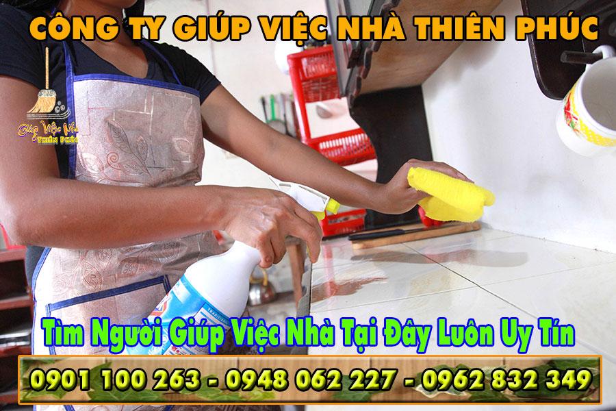 Tìm người giúp việc nhà để hỗ trợ dọn dẹp