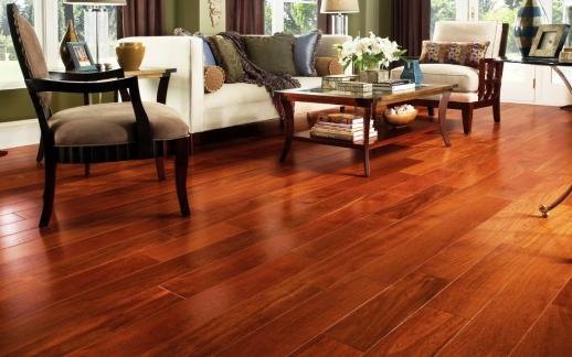 Sàn gỗ giáng hương an toàn cho người sử dụng