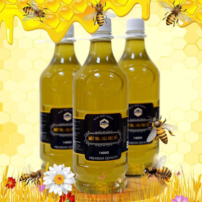 Công dụng không ngờ của mật ong hoa bạc hà trong làm đẹp