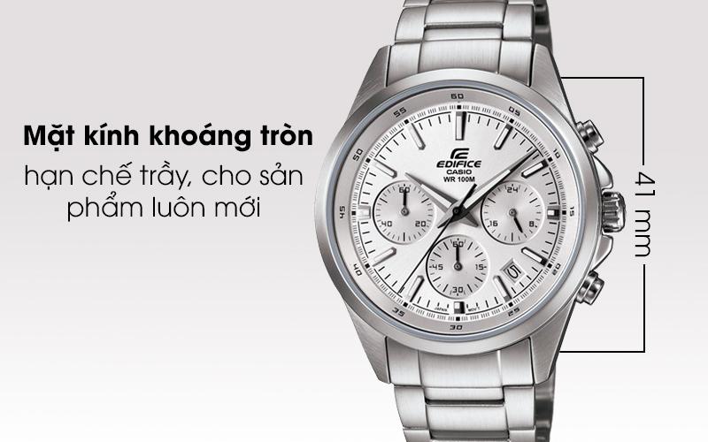 Đồng hồ Casio Edifice mặt kính khoáng