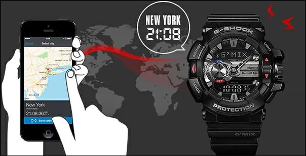 G-Shock có khả năng kết nối với điện thoại