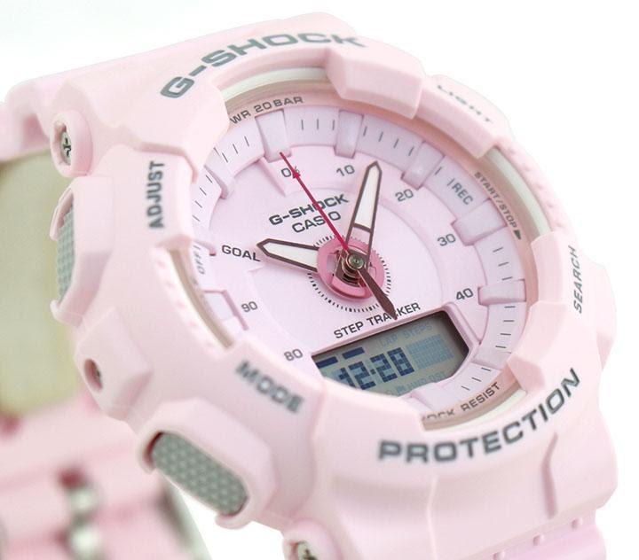 Cận cảnh của chiếc đồng hồ G Shock nữ GMA-S130PA-4A