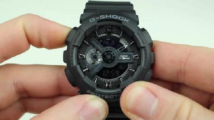 Tắt báo thức đồng hồ thể thao G-Shock đơn giản, ai cũng có thể làm được.