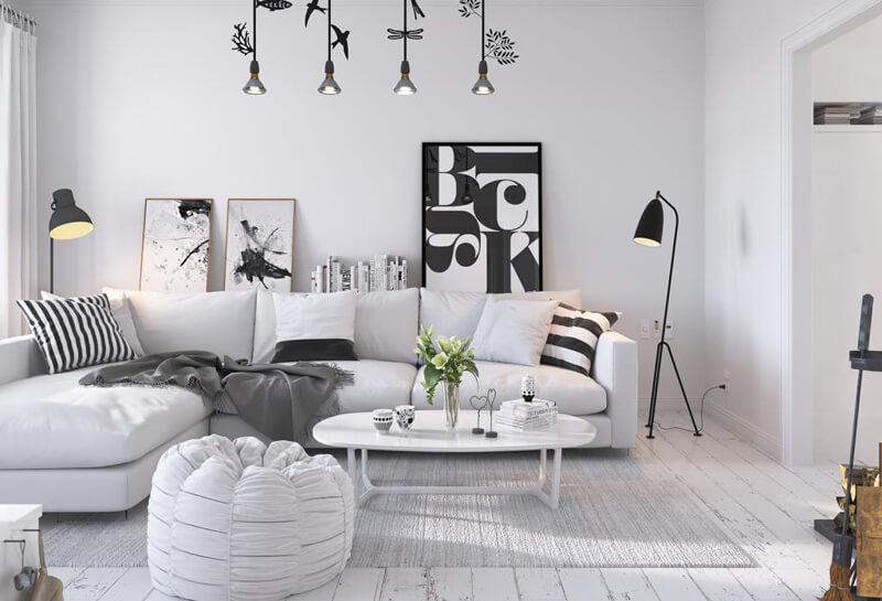 Bộ ghế sofa phong cách Bắc Âu thật sáng tạo