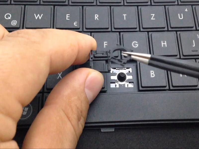 Bàn phím bị liệt 1 nút