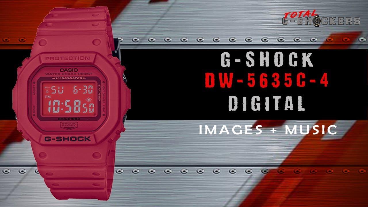 Đồng hồ Casio G Shock DW-5635C-4