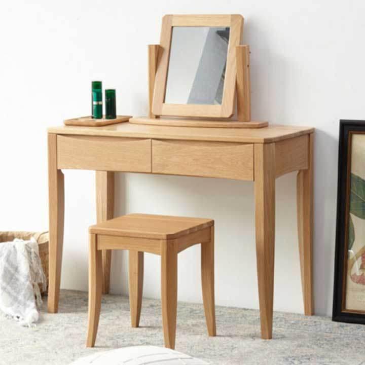 Tại sao bàn trang điểm bằng gỗ được ưa chuộng